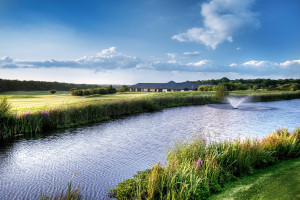 Surrey meeting venue with golf course and yoga